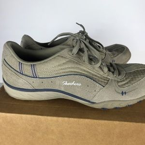 Skechers Just Relax Lace Up Casual Shoe